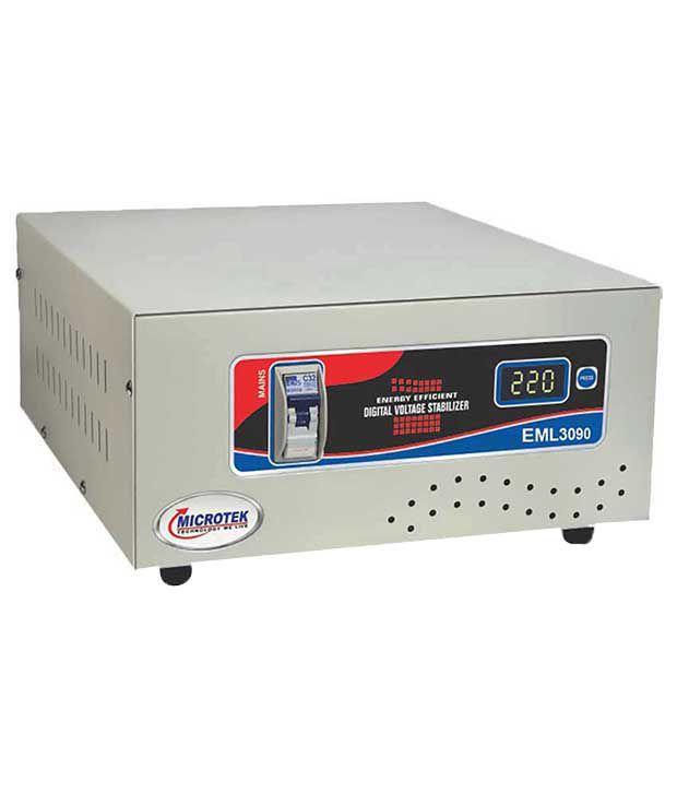 Microtek-EML3090-Digital-Voltage-Stabilizer