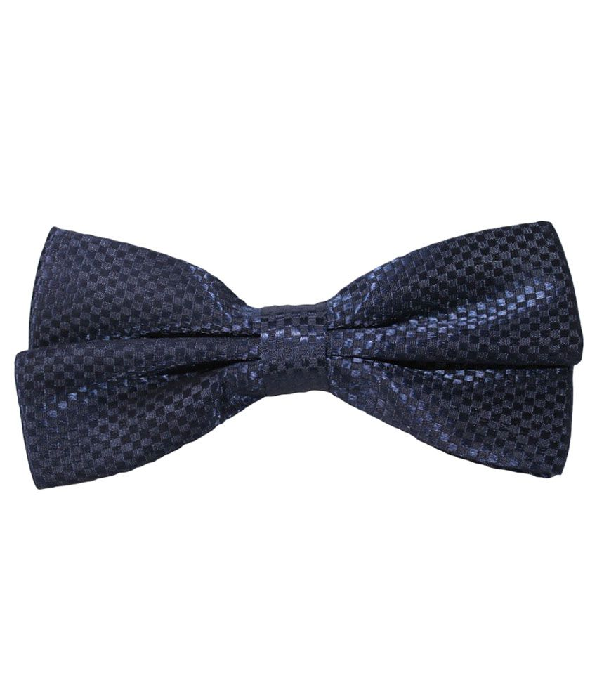 Uspa.polo Navy Blue Silk Casual Thin Tie for Men