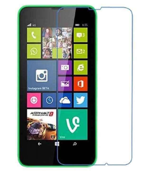 Nokia X Tempered Glass Screen Guard by Fortuna