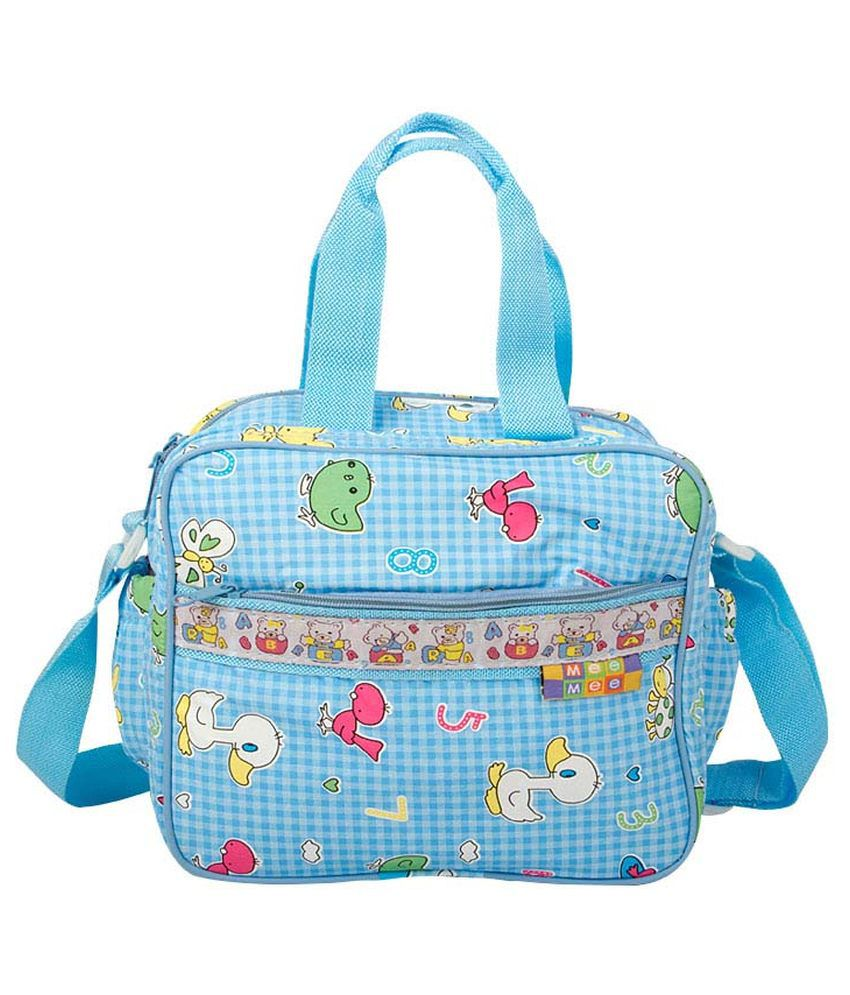 Mee Mee Blue Nursery Bag