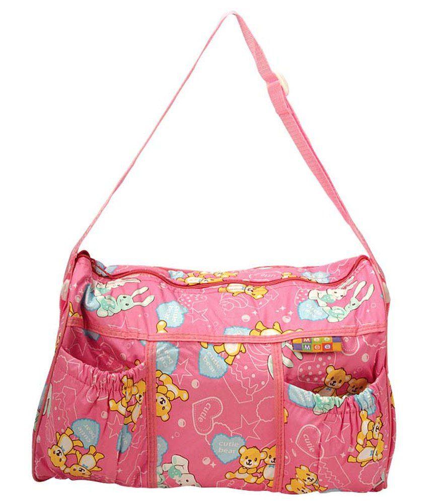 Mee Mee Multifunctional Nursery Bag_Pink