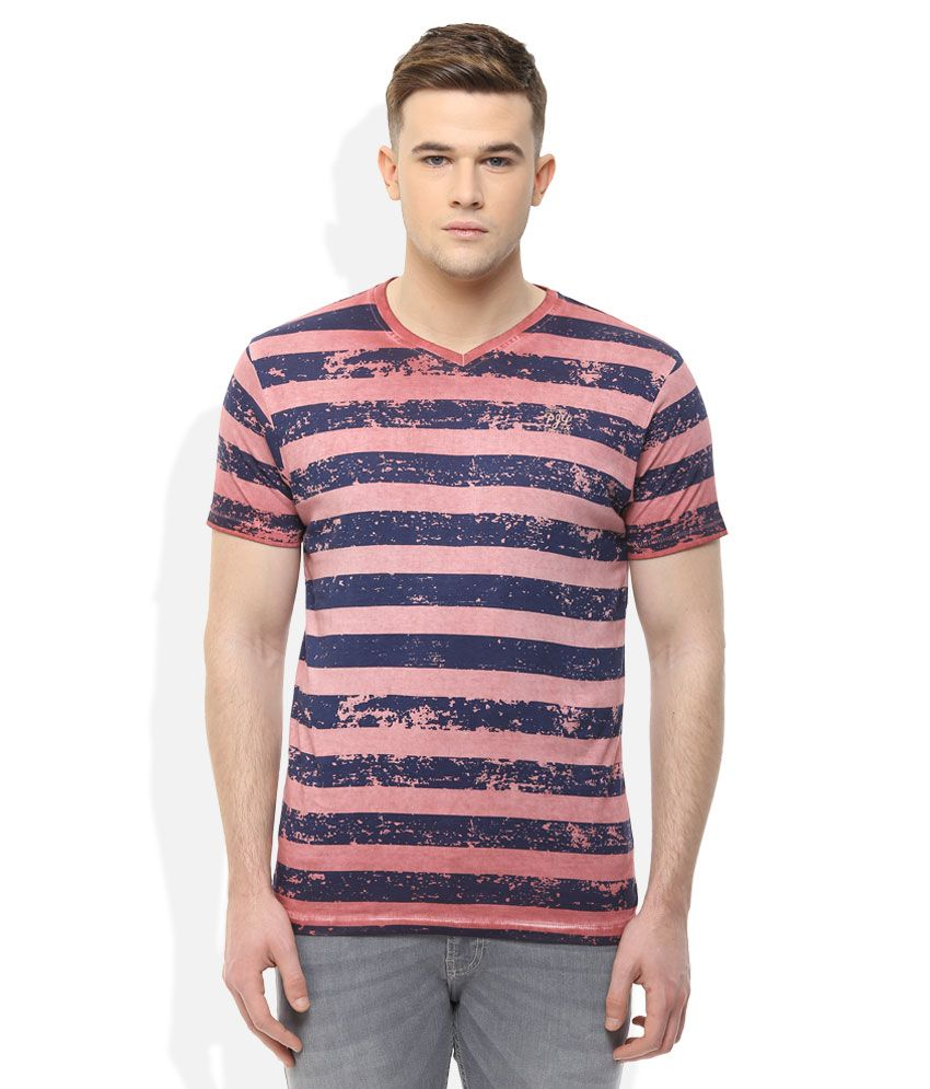 Pepe Jeans Red Stripers T-Shirt
