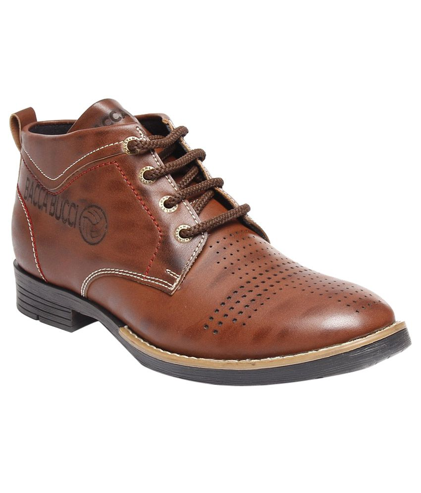 Bacca Bucci Brown Boots