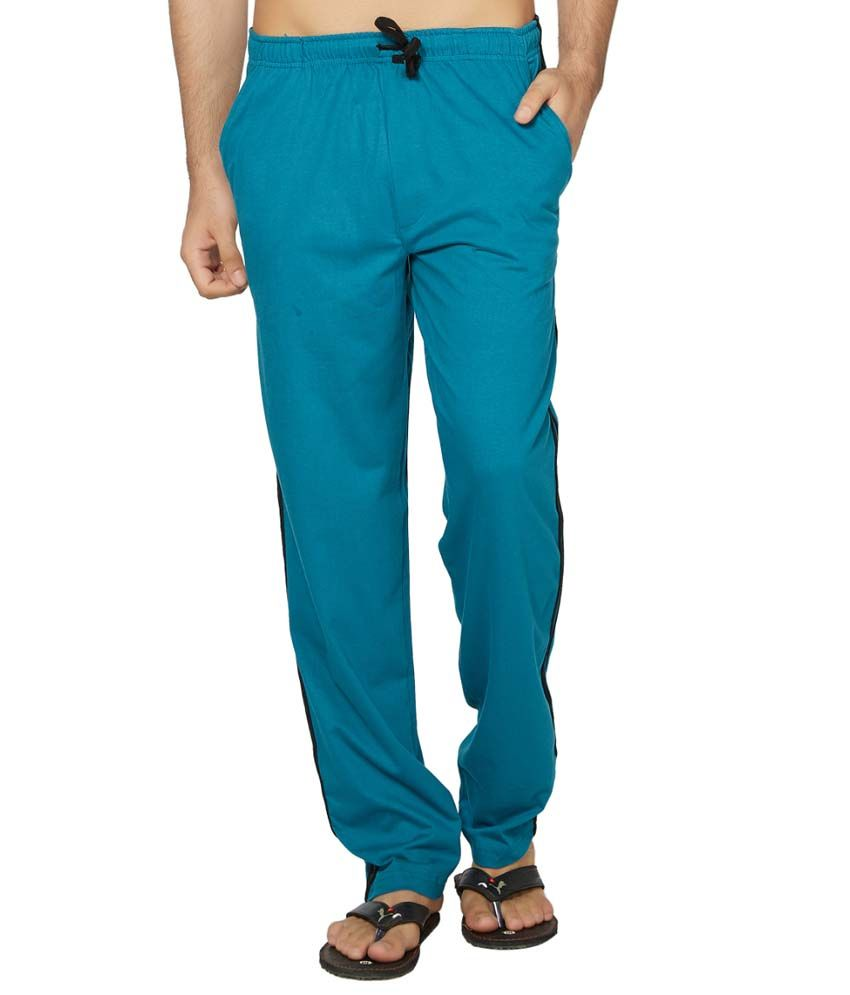 Clifton Fitness Men's Coloured Track Pants -Turquiose