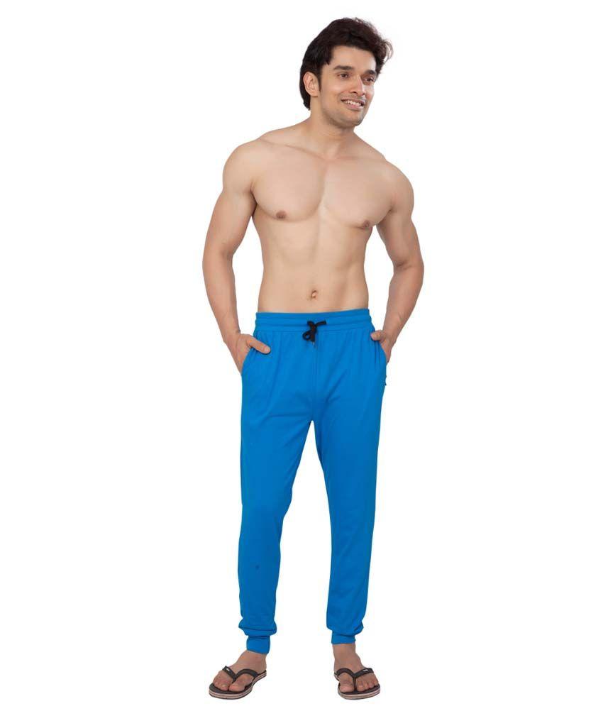 Clifton Fitness Men's Track Pant Slimfit -Royal Blue
