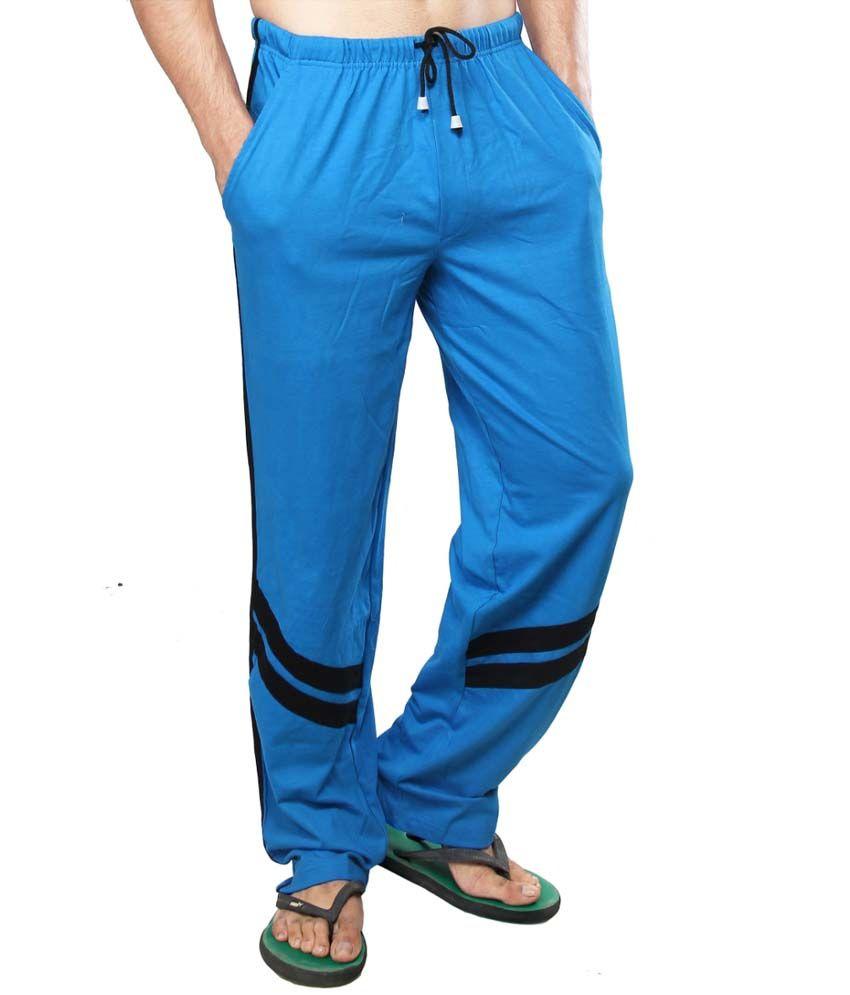 Clifton Fitness Men's Track Pants -Royal Blue