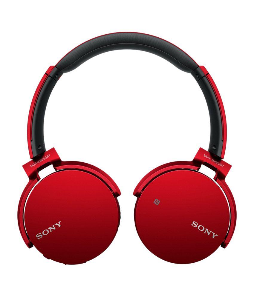 Sony On Ear Wireless With Mic Headphones/Earphones