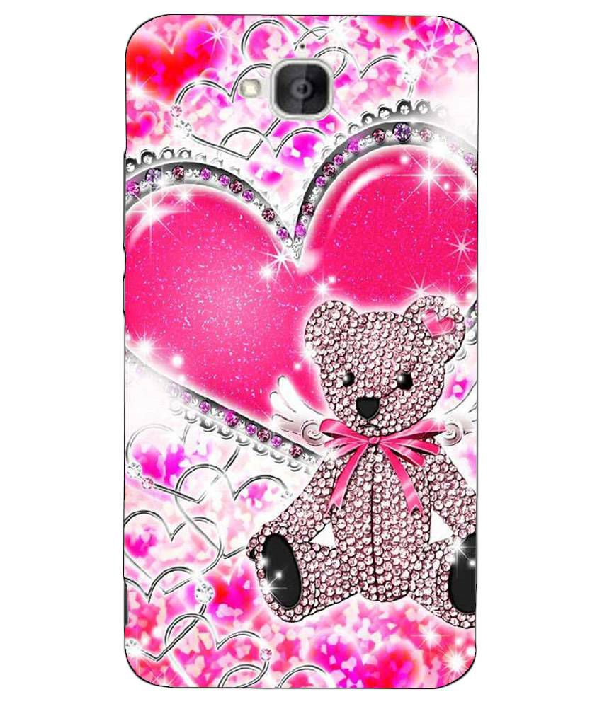 sports shoes 1bfd9 2cf2c Anything Printed Back Cover For Huawei Honor Holly 2 Plus - Multicolor