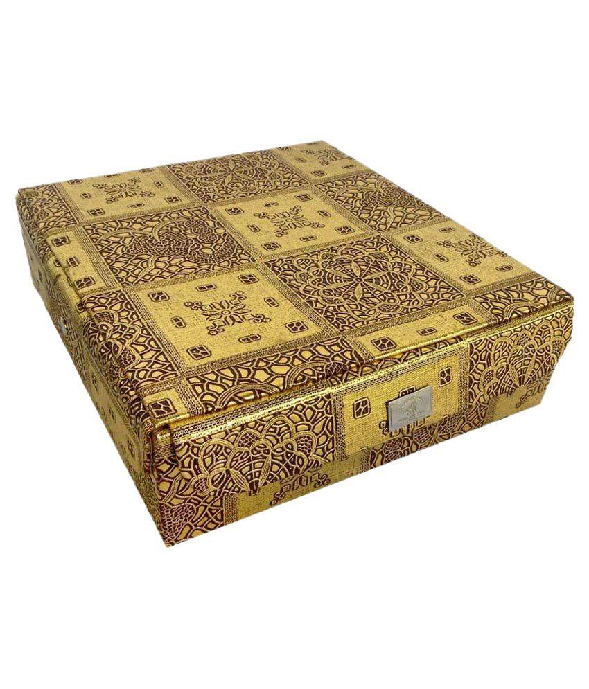 Ermani Export Golden Jewellery Box