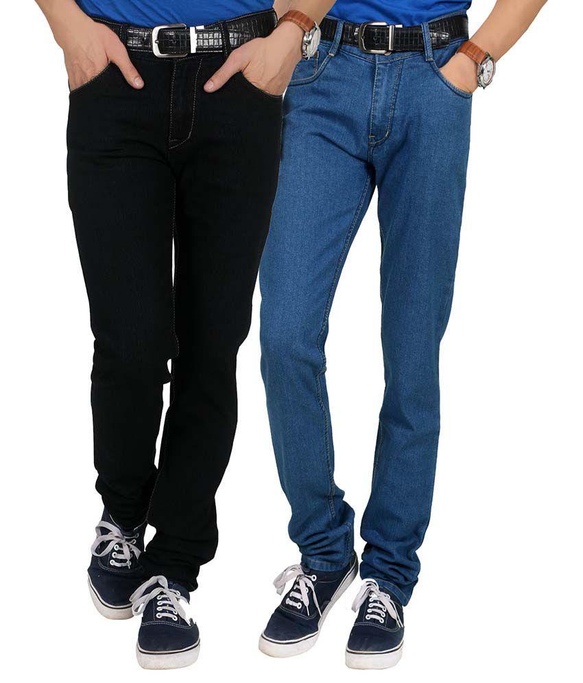 Forever19 Multi Regular Fit Jeans Pack Of 2
