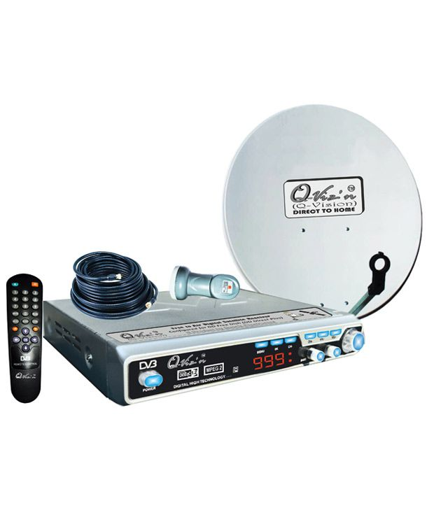 Q-Viz'n (Q-vision) Digital Satellite Receiver System (Free To Air)