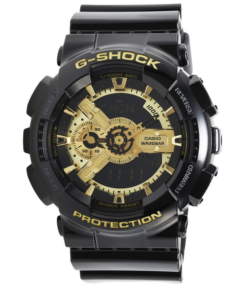 Casio Golden Analog Digital Watch (G339) By Snapdeal @ Rs.6,585
