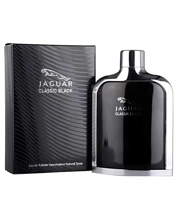 Jaguar Classic Black Men's EDT Perfume- 100 ml