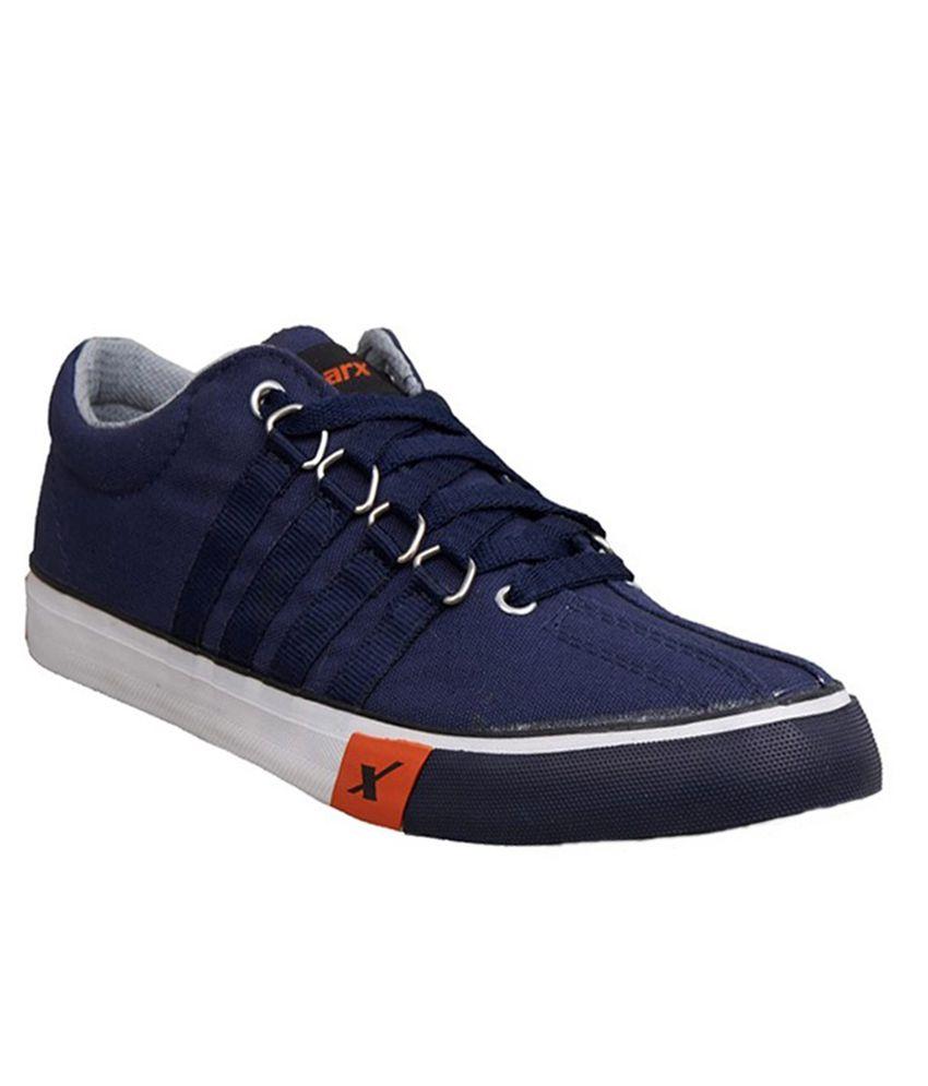 Sparx Blue Sneaker Shoes Art