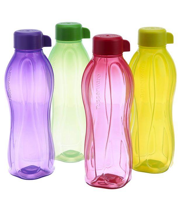 Tupperware Water Bottle 500 Ml Set Of 4 Buy Online At