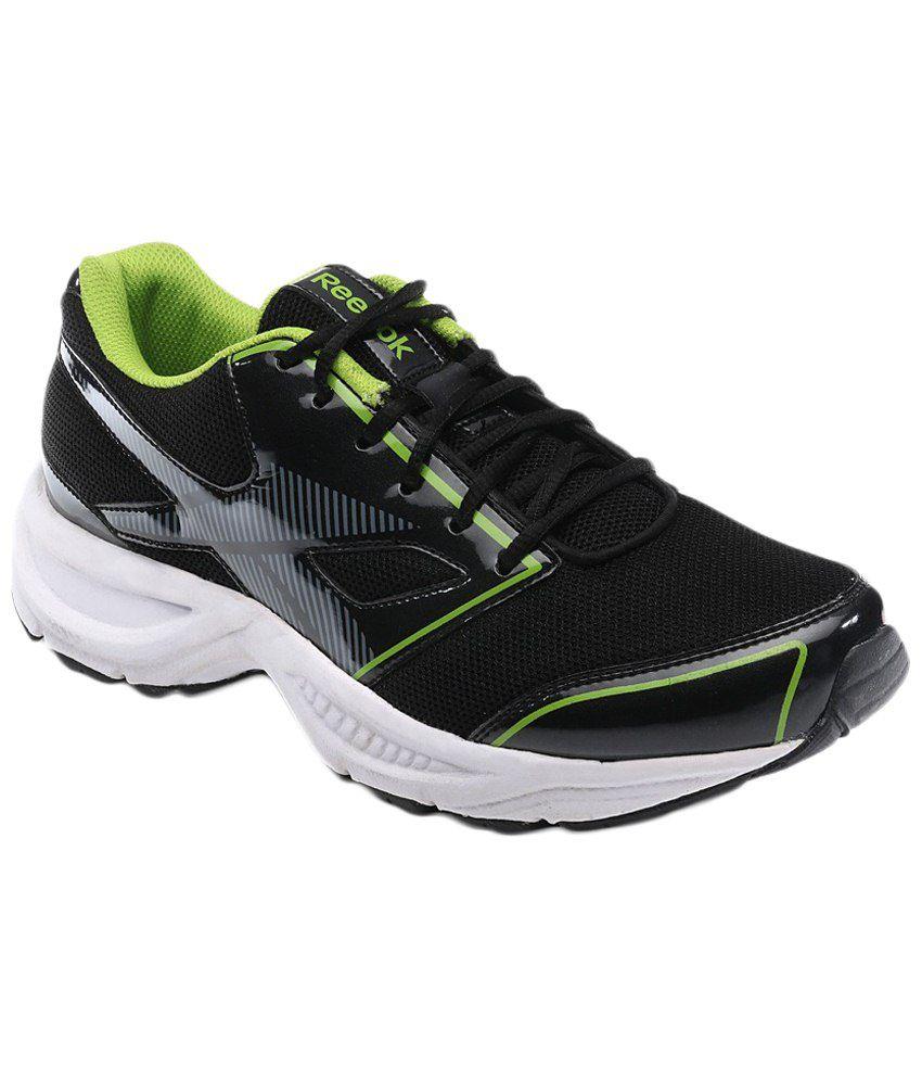 reebok black green sports shoes rbv48984 buy
