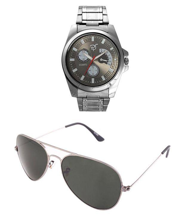 Rico Sordi RSM1 Silver Metal Analog Watch