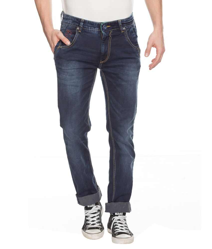 3452fe6b Spykar Blue Rico Slim Fit Jeans - Buy Spykar Blue Rico Slim Fit Jeans  Online at Best Prices in India on Snapdeal