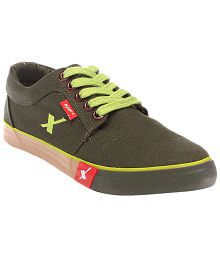 Sparx Green Sneaker Shoes Art BSPARXSM175OLIVE