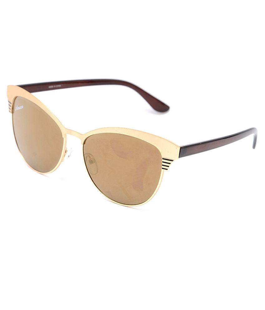 Amaze Golden Cat Eye Sunglasses