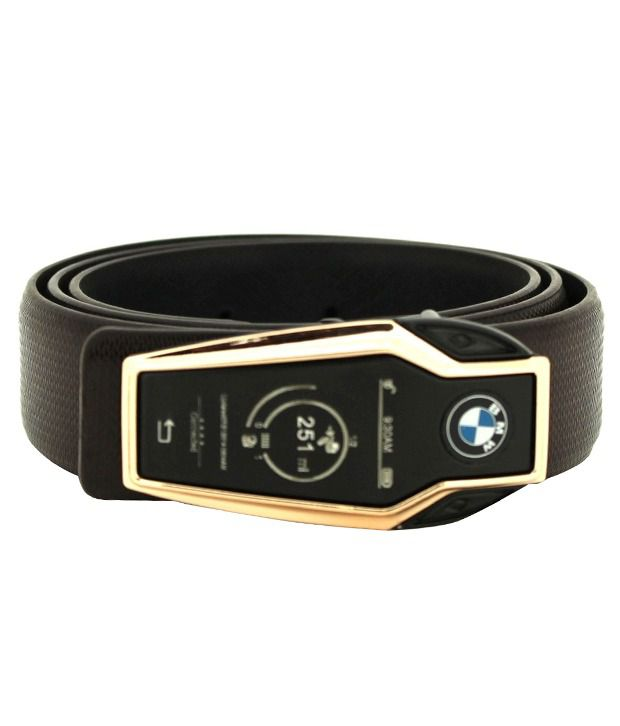 Heaven Deal Brown Leather Casual Belt for Men