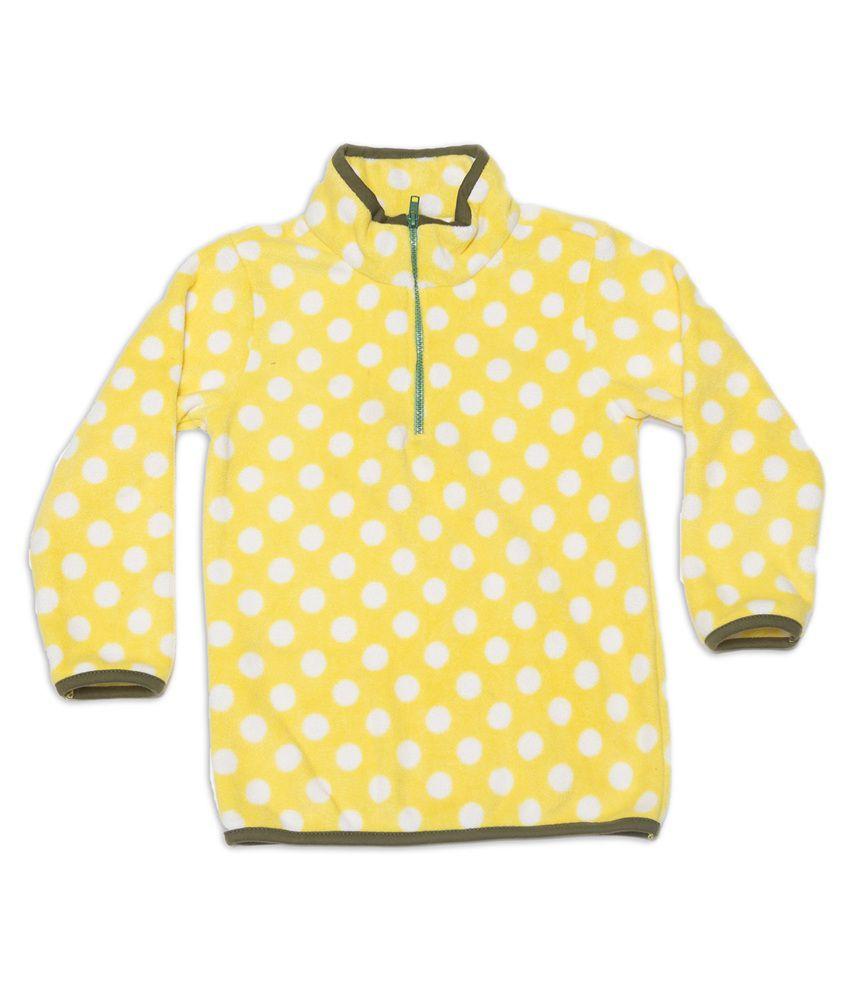Nino Bambino Yellow and White Sweatshirt