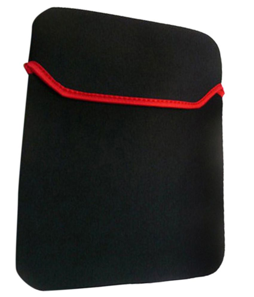Speed Black Neopreme Elastic Laptop Sleeve