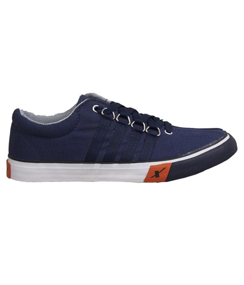 Sparx Blue Canvas Shoes Art ASPARXSC0162GNAVY Sparx