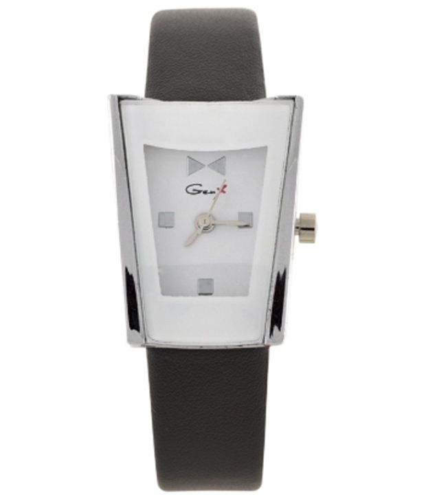 genx white amp black analogue wrist watch for women price in