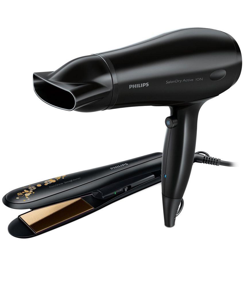 Philips HP8646/00 Hair Straightener - Black