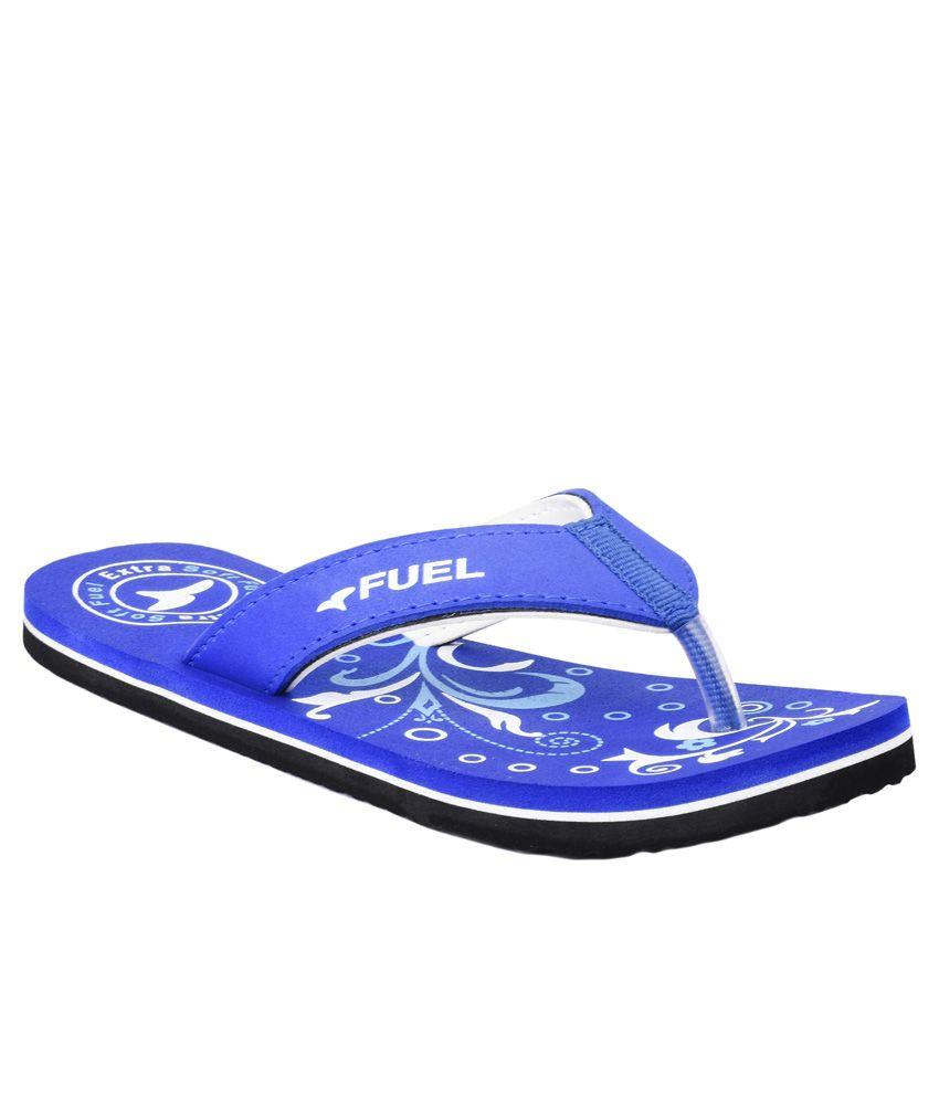 Fuel Blue Slippers & Flip Flops
