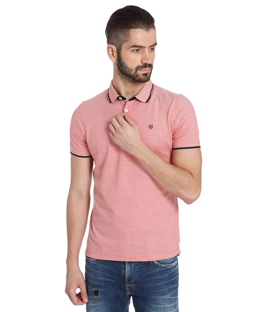 gamma completa di specifiche scarpe autunnali migliori offerte su Jack & Jones Pink Solid Polo T-Shirt - Buy Jack & Jones Pink Solid ...