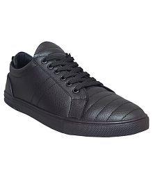 M & M Black Sneaker Shoes