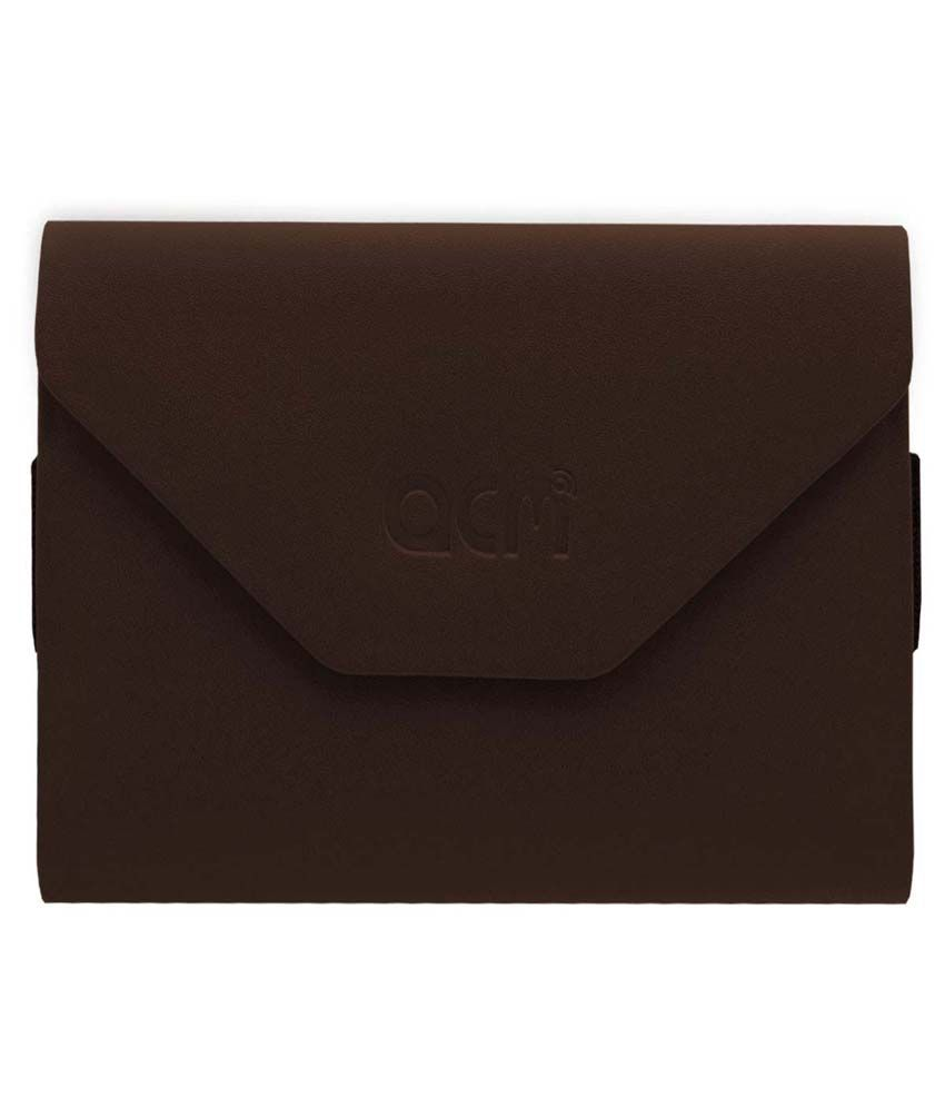 ACM Flip Cover for iBall Slide 3G 9728 - Brown