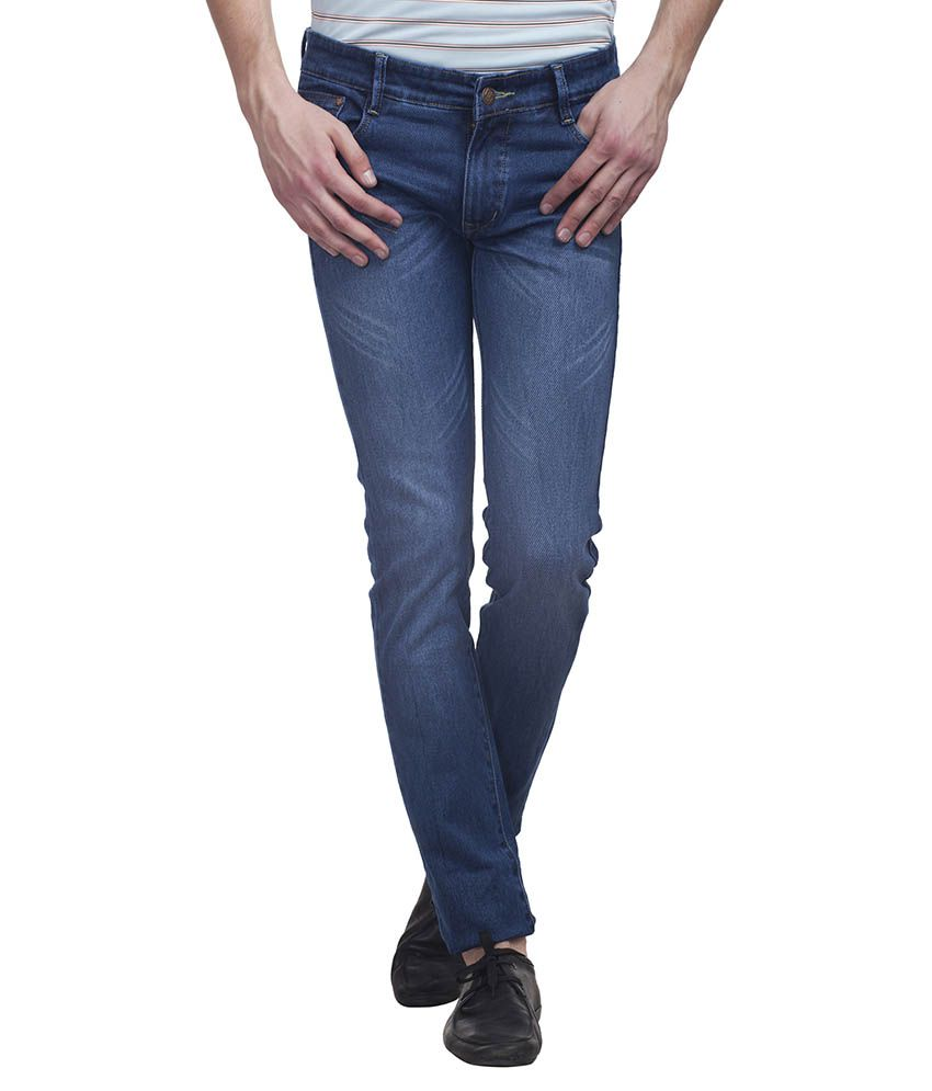 Paranoid Blue Slim Fit Jeans