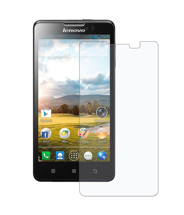 Lenovo A5000 Tempered Glass Screen Guard by SAC
