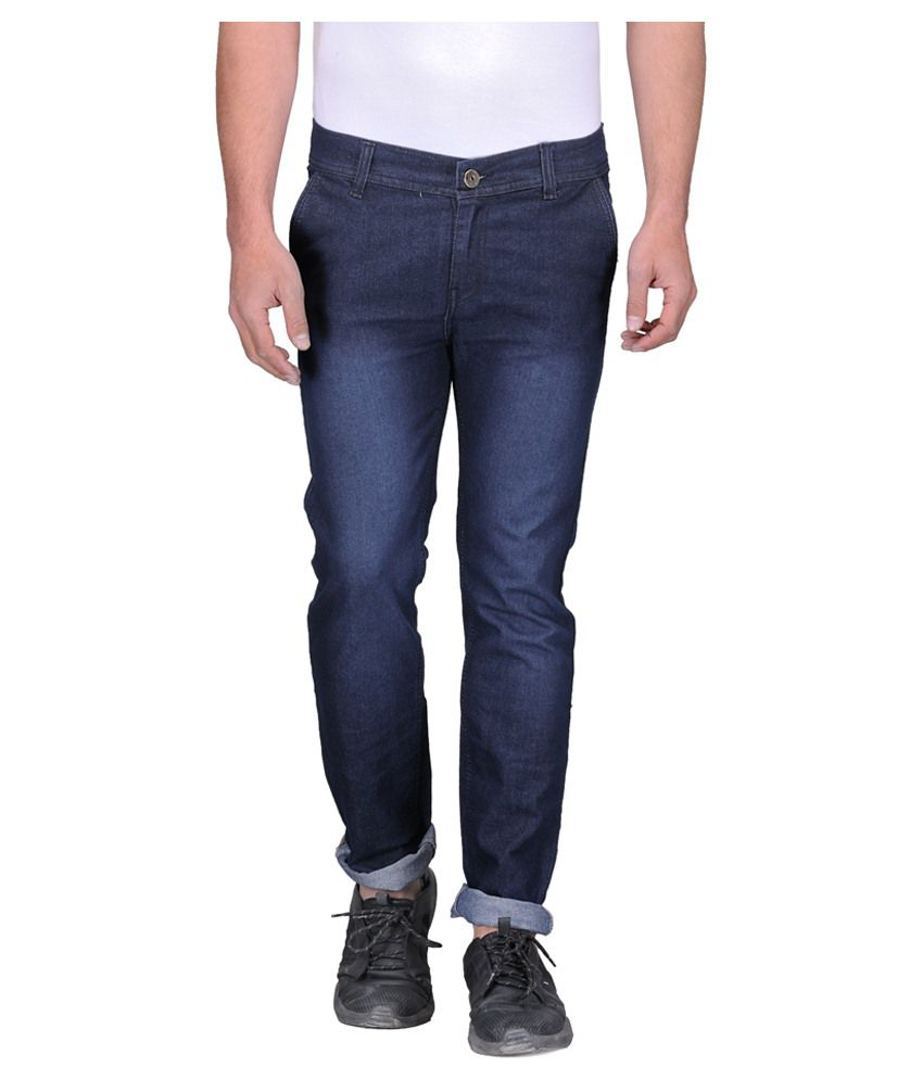 Ausy Black Slim Fit Jeans