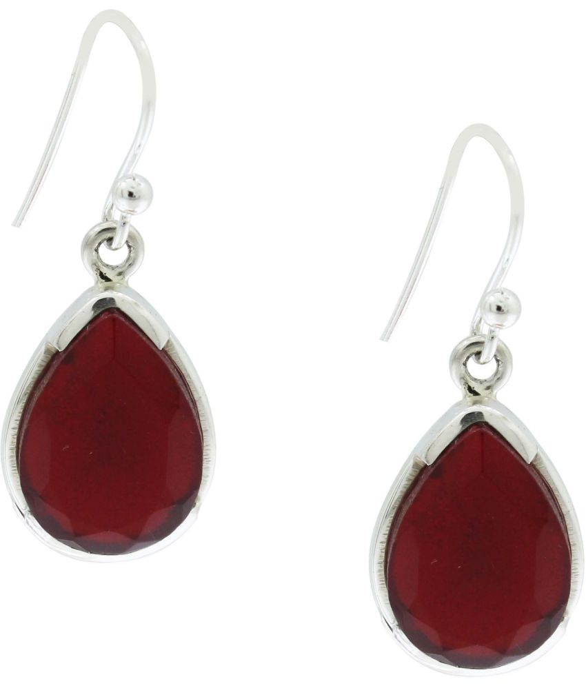 Frabjous 92.5 Sterling Silver Hanging Earrings