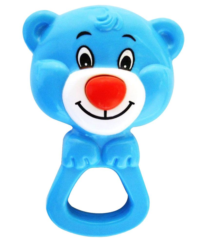 Funskool Multicolor Giggles Button Nose Rattle