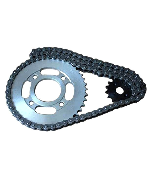 Hero Genuine Parts Price List >> Motopart Bike Chain Set Assembly For Bajaj Pulsar 150: Buy Motopart Bike Chain Set Assembly For ...