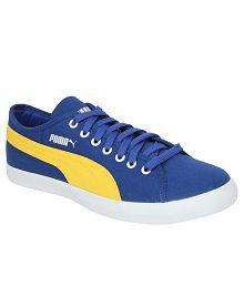 Puma Blue Casual Shoes