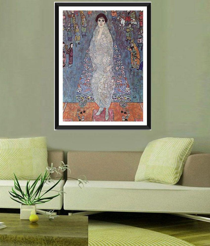 Tallenge Baroness Elizabeth By Gustav Klimt Framed Art Print