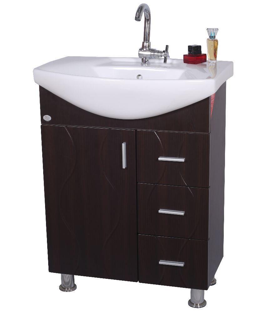 Buy dazzel vanity wash basin black online at low price for Wash basin mirror price