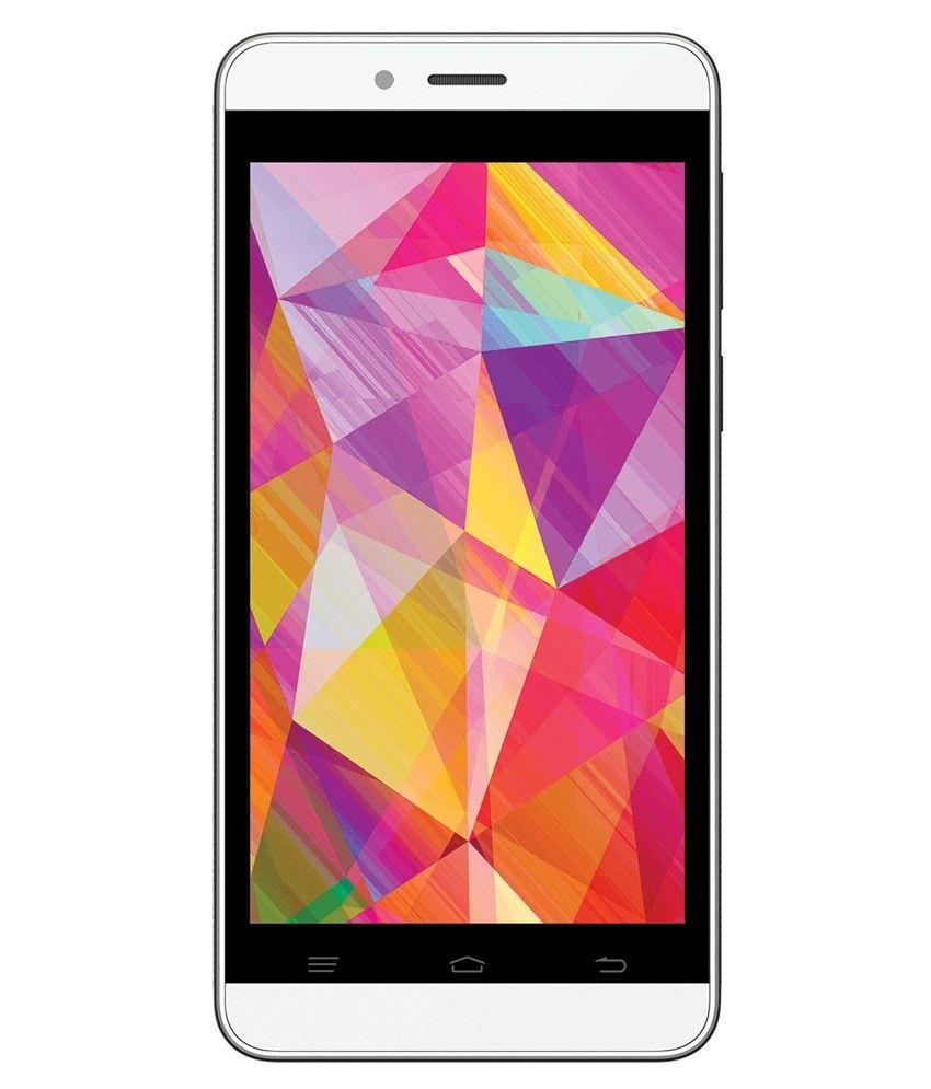 Intex Aqua Q7 (8GB, White)