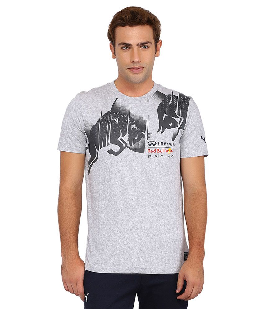 Puma Gray Infiniti Red Bull Racing T Shirt - Buy Puma Gray Infiniti Red  Bull Racing T Shirt Online at Low Price in India - Snapdeal 8d28f61eba18