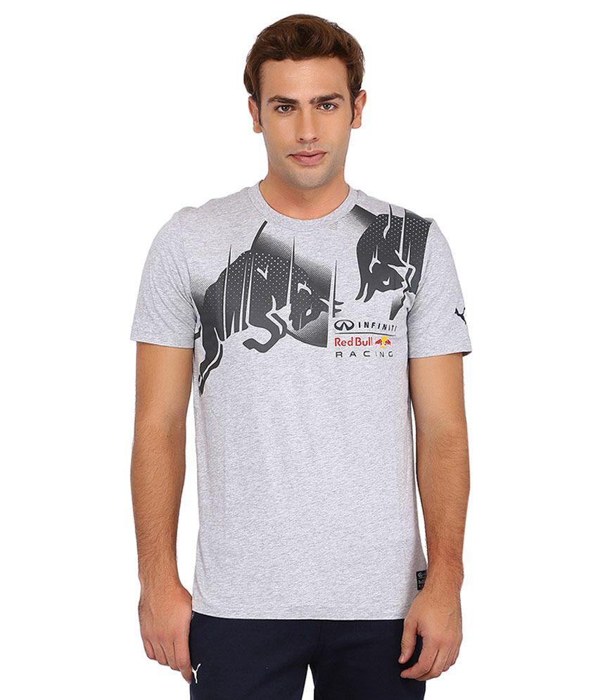Puma Gray Infiniti Red Bull Racing T Shirt