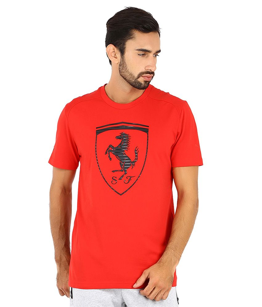 738ebfce601 Puma Red Ferrari T Shirt - Buy Puma Red Ferrari T Shirt Online at Low Price  in India - Snapdeal