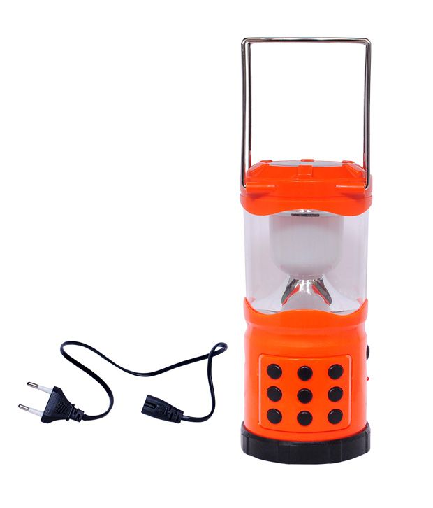 Bi Tec Solar & Rechargeable Emergency Light