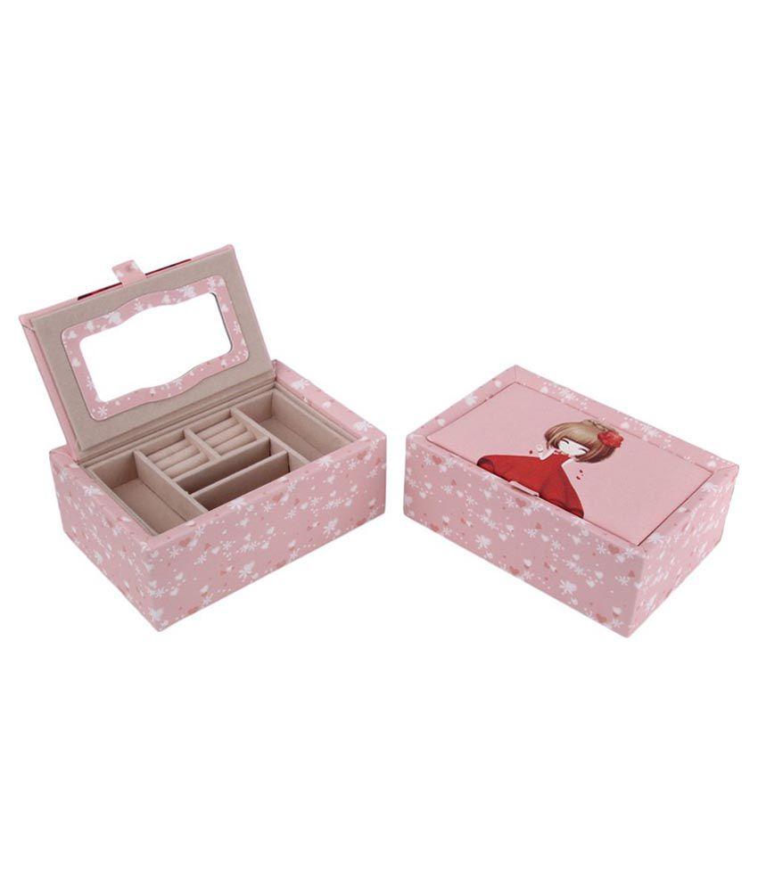 Uberlyfe Pink Pretty Little Girl Jewellery Box