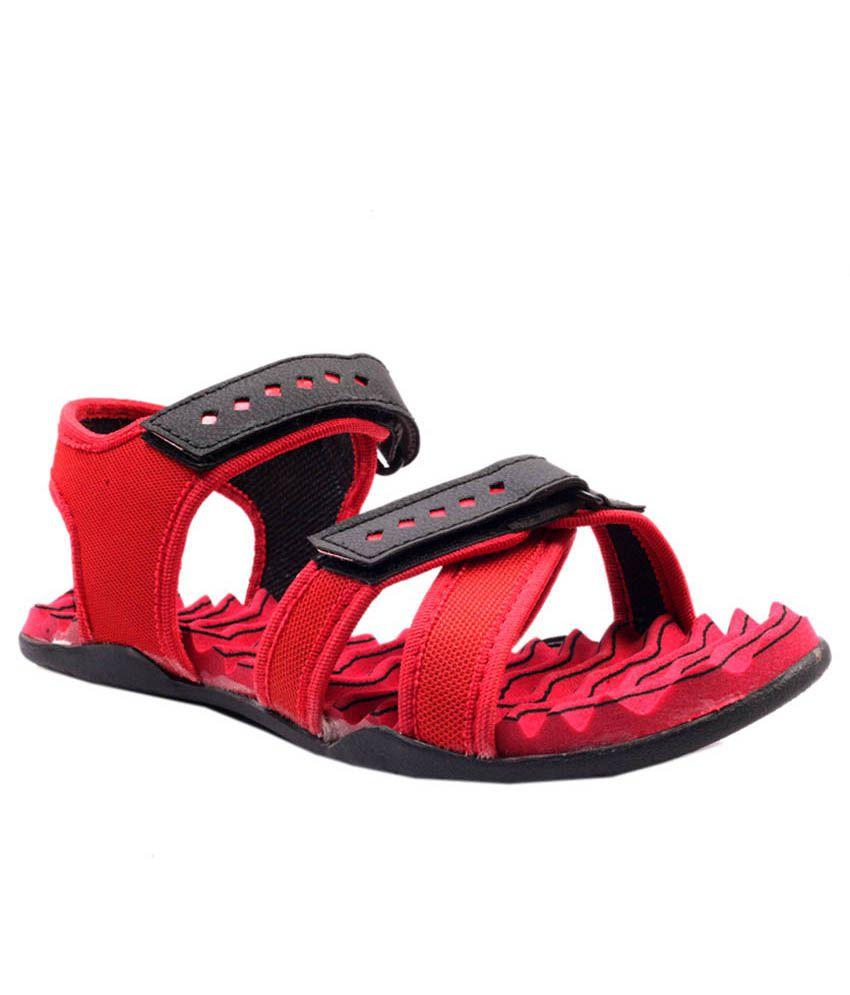 Rimezs Red Floater Sandal